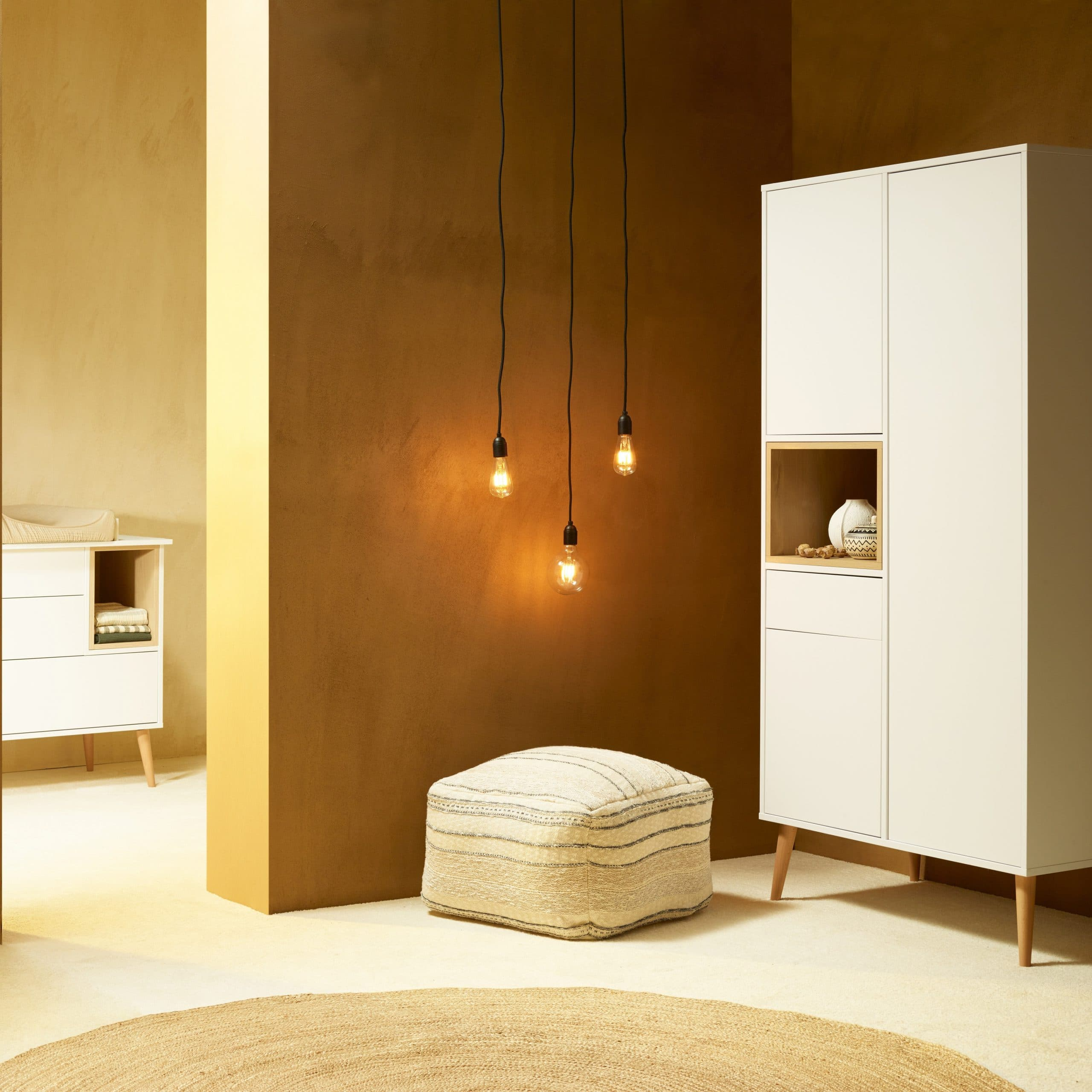 Chambre Cocoon Ice White